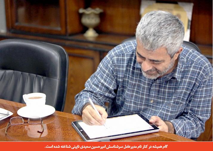 امیرحسین سعیدی نایینی
