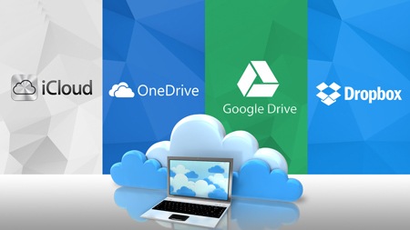 Dropbox Microsoft and Google